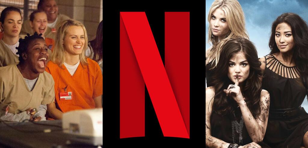 Orange Is the New Black/Netflix/Pretty Little Liars