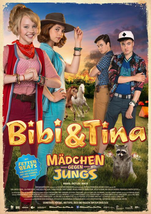 Bibi & Tina 3 Mädchen Gegen Jungs Stream