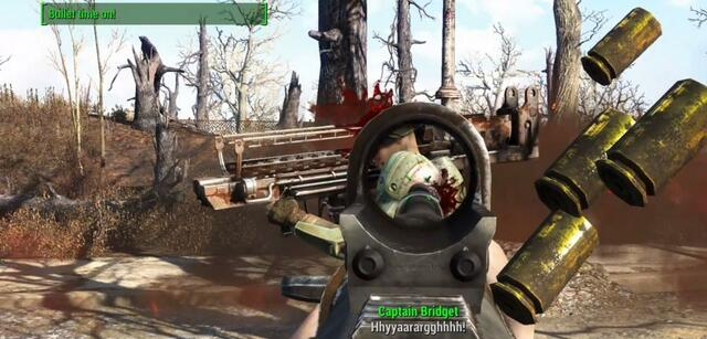 Fallout 4 mit Bullet Time