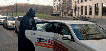 Bild zu:  Darth Vader in Berlin!