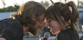 Bild zu:  Bradley Cooper und Lady Gaga in A Star is Born