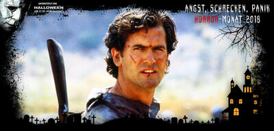 Bruce Campbell als Ash Williams in Armee der Finsternis