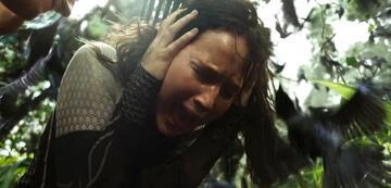 Die Tribute von Panem 2: Katniss wird von Schnattertölpeln angegriffen