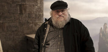 Bild zu:  George R.R. Martin am Set von Game of Thrones