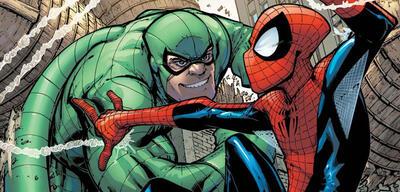 Scorpion und Spider-Man