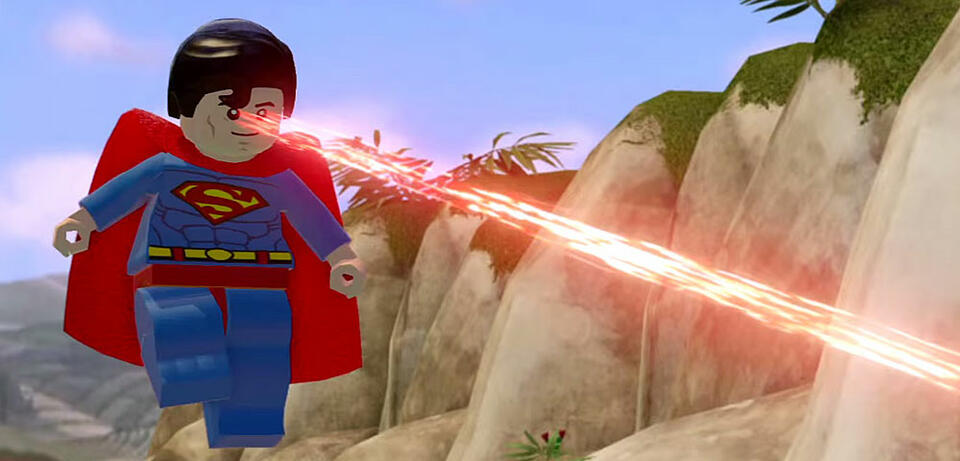 Superman in Lego Dimensions