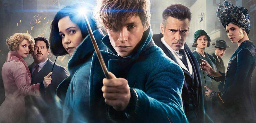 Originalposter Fantastic Beasts and where to find them