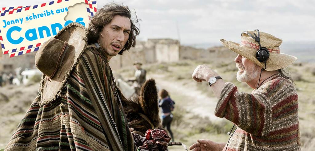 The Man Who Killed Don Quixote: Adam Driver und Terry Gilliam