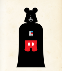 Star Wars/Disney-Mashup