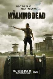 The Walking Dead Staffel 3 - Poster