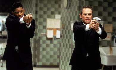Men in Black mit Will Smith und Tommy Lee Jones - Bild 3