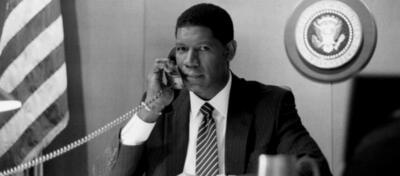 Dennis Haysbert als US-amerikanischer Präsident in der Serie 24