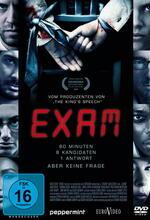 Exam - Tödliche Prüfung Poster