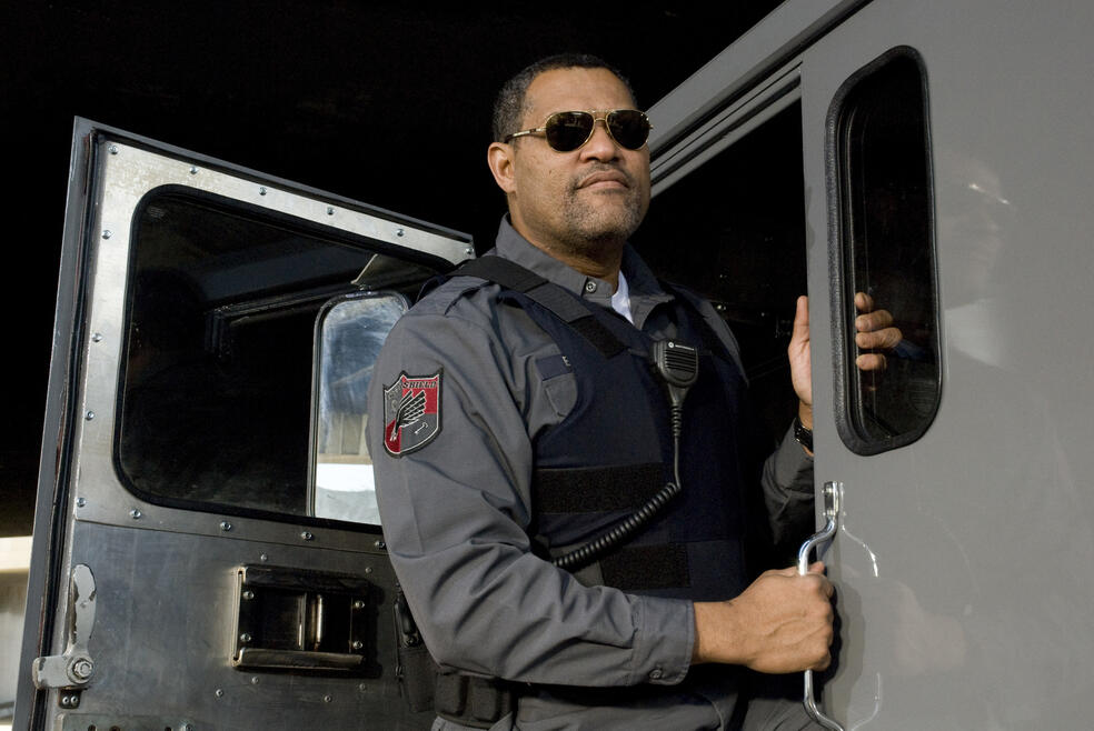 Armored mit Laurence Fishburne