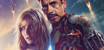 Bild zu:  Iron Man und Pepper Potts
