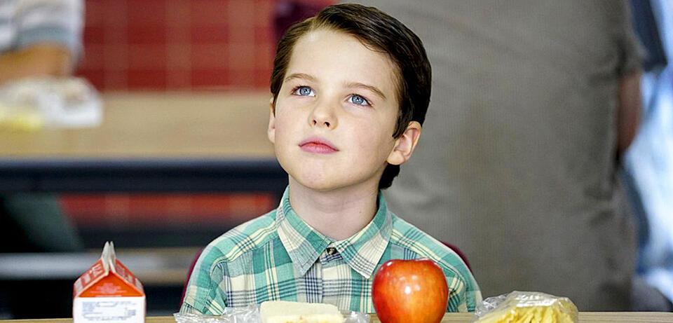 Iain Armitage in Young Sheldon
