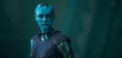 Guardians of the Galaxy mitKaren Gillan als Nebula