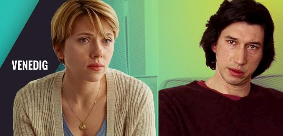 Scarlett Johansson und Adam Driver in Marriage Story