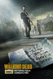 The Walking Dead - Staffel 5 - Poster