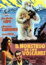 The Monster of the Volcano - Poster