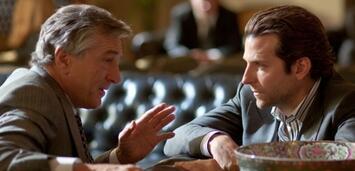 Bild zu:  Robert De Niro und Bradley Cooper in Ohne Limit