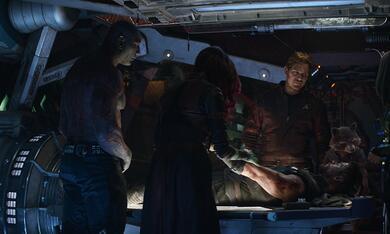 Avengers 3: Infinity War mit Bradley Cooper, Chris Hemsworth, Chris Pratt, Dave Bautista und Pom Klementieff - Bild 10