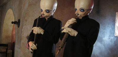 Die Cantina Band aus Star Wars