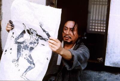 """""""Chihwaseon - Im Rauch der Farben und der Liebe"""" (2002): Choi Min-sik als Künstler Oh-won"""