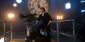 Rob Marshall am Set von Mary Poppins' Rückkehr