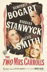 Die zwei Mrs. Carrolls - Poster