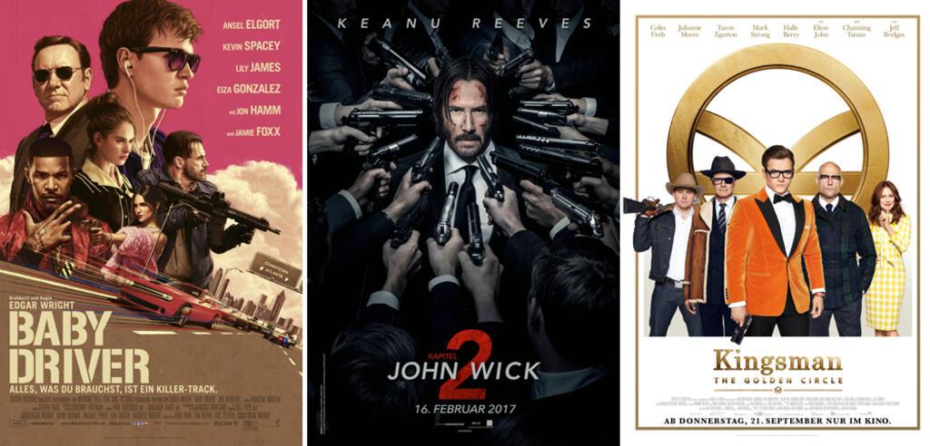 Top 10 der besten Actionfilme 2017
