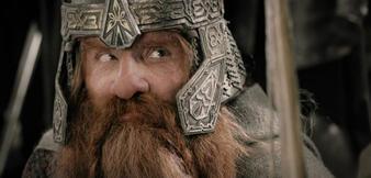 John Rhys-Davies als Gimli