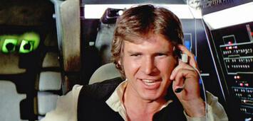Bild zu:  Wie viel?! Harrison Ford freut sich über seine Gage