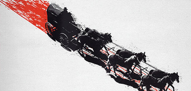 Die Kutsche ins Verderben aus The Hateful Eight