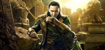 Bild zu:  Tom Hiddleston als Loki in Thor: The Dark Kingdom