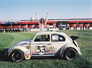Lindsay Lohan in Herbie Fully Loaded