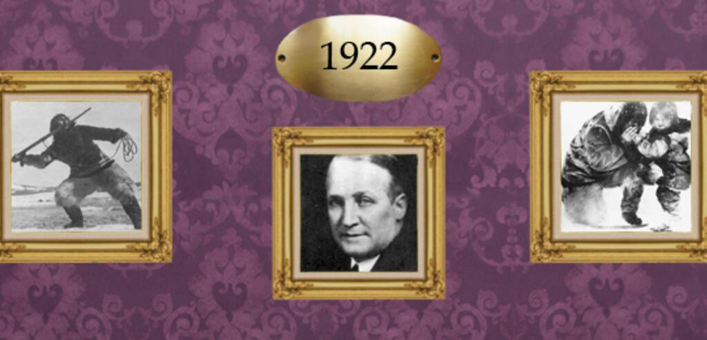 Robert Flahertys Nanook of the North war die erste abendfüllende Doku