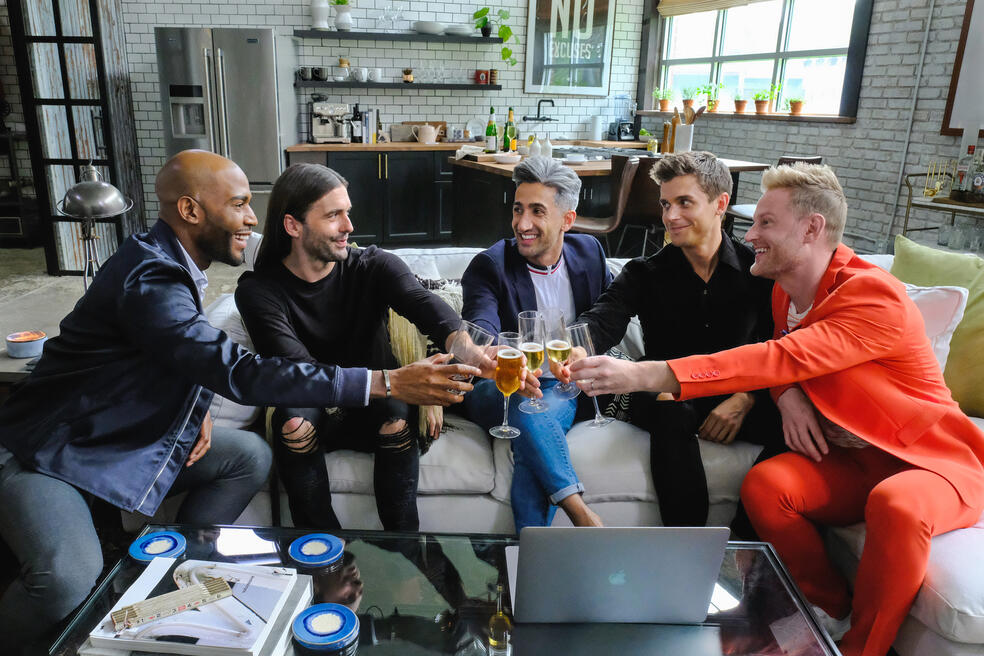 Queer Eye For The Straight Guy, Queer Eye For The Straight Guy - Staffel 1