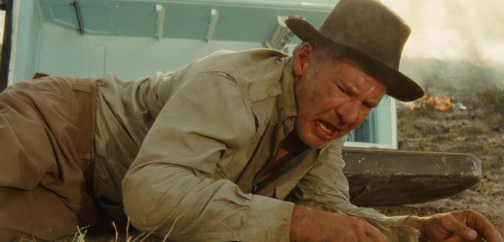 Die berüchtigte Kühlschrank-Szene in Indiana Jones und das Königreich des Kristallschädels