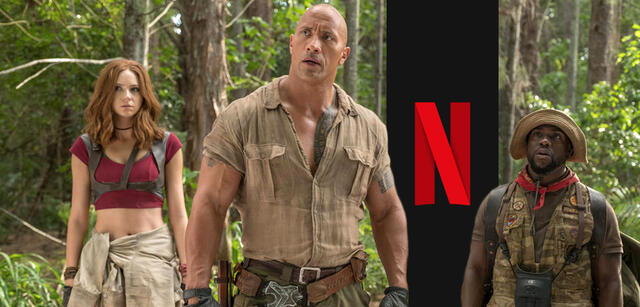 JUmanji - Willkommen im Dschungel mit Dwayne Johnson, Karen Gillan und Kevin Hart