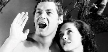 Bild zu:  Johnny Weissmuller in Tarzan, der Affenmensch (1932)