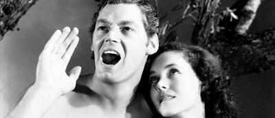 Johnny Weissmuller in Tarzan, der Affenmensch (1932)