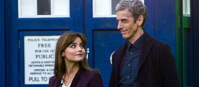 Jenna Coleman und Peter Capaldi in der 8. Staffel Doctor Who