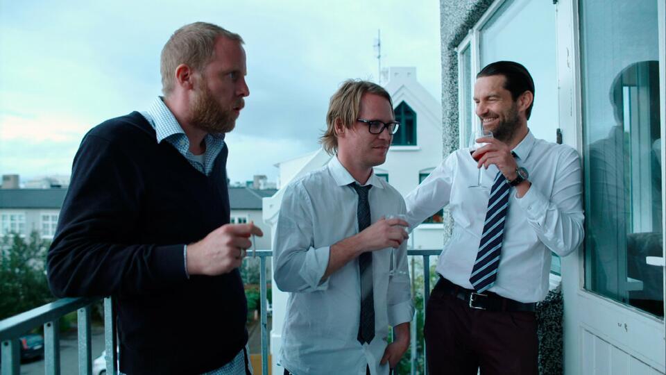 Reykjavik mit Stefán Hallur Stefánsson, Gudmundur Thorvaldsson und Atli Rafn Sigurðsson
