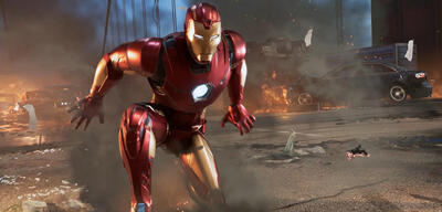 Iron Man in Marvel's Avengers: A-Day