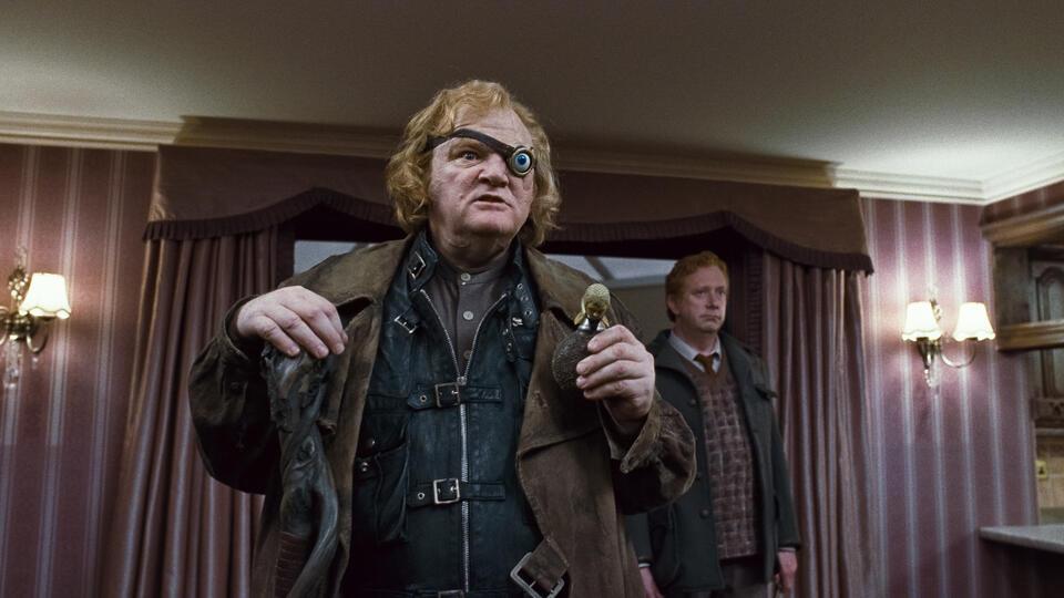 Harry Potter und die Heiligtümer des Todes 1 mit Brendan Gleeson und Mark Williams