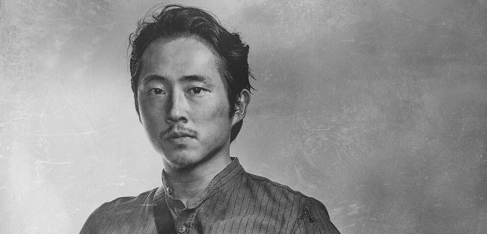 Glenn (Steven Yeun) inThe Walking Dead
