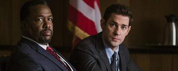 John Krasinski und Wendell Pierce in Tom Clancy's Jack Ryan