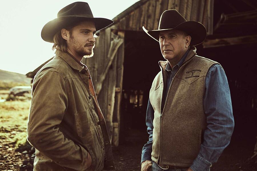 Yellowstone - Staffel 2, Yellowstone mit Kevin Costner und Luke Grimes