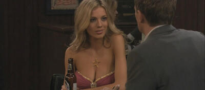 Topmodel Bar Paly in How I Met Your Mother